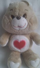 Adorable Vintage 1983 'Tenderheart' Collectable Care Bear
